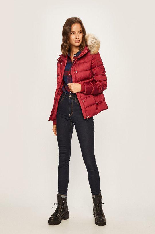 Calvin Klein Jeans - Bunda kaštanová
