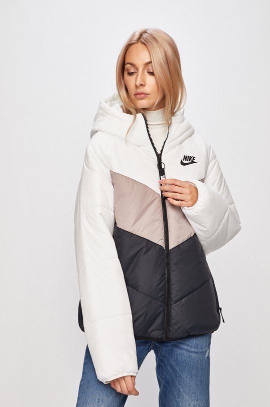 světle šedá Nike Sportswear - Bunda Dámský