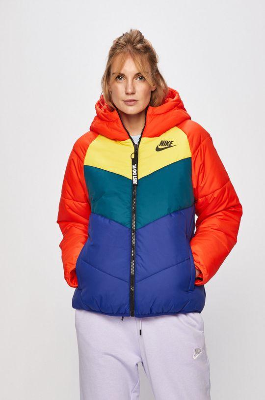 červená Nike Sportswear - Bunda Dámský