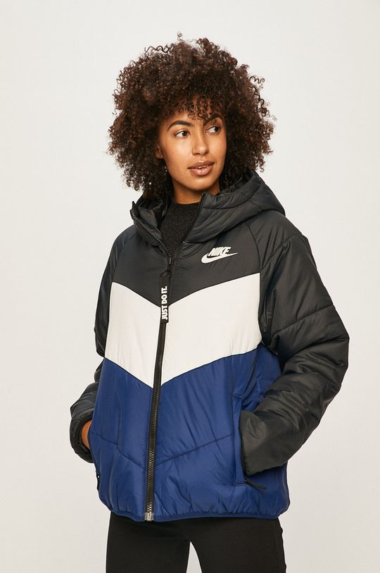 černá Nike Sportswear - Bunda Dámský