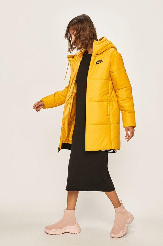 žlutá Nike Sportswear - Bunda Dámský