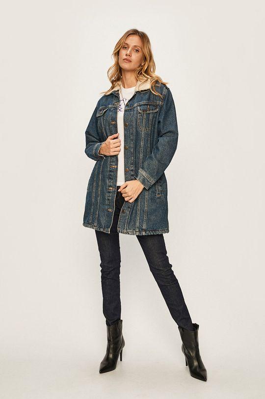 Lee - Rifľová bunda modrá