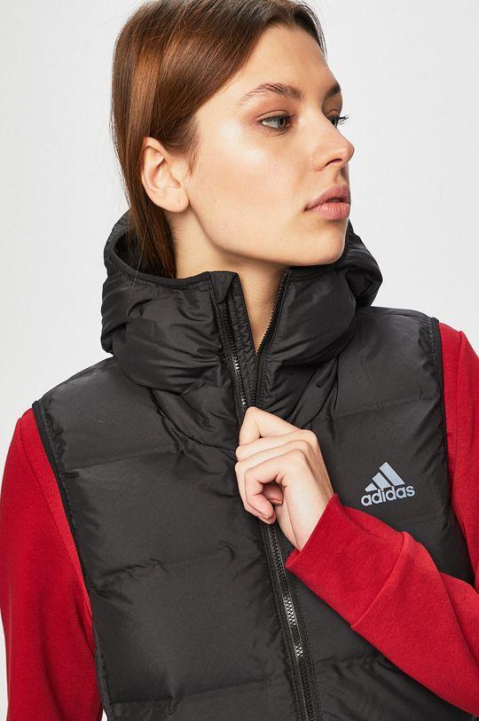černá adidas Performance - Péřová vesta
