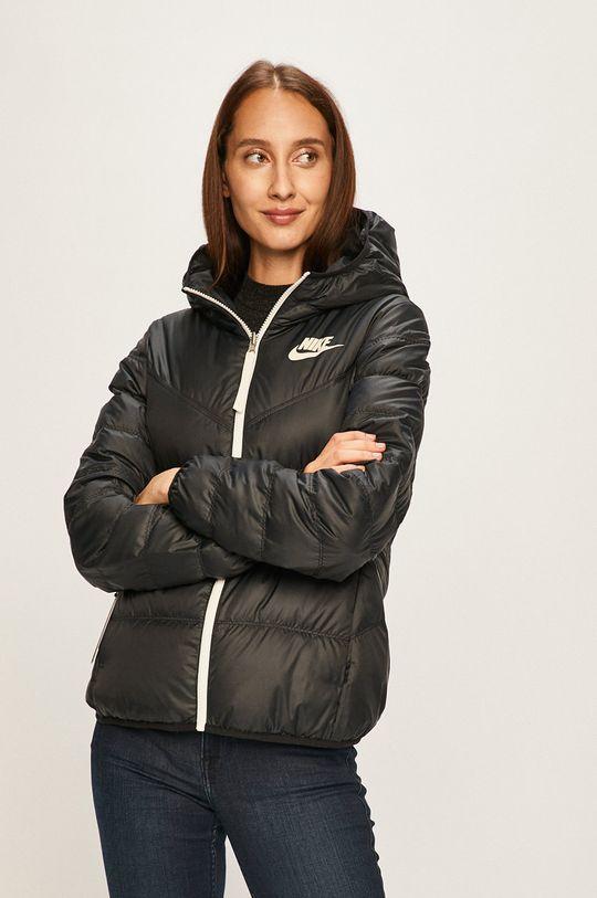 černá Nike Sportswear - Oboustranná péřová bunda Dámský