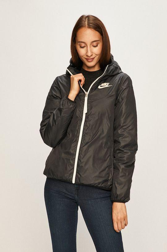 Nike Sportswear - Oboustranná péřová bunda černá