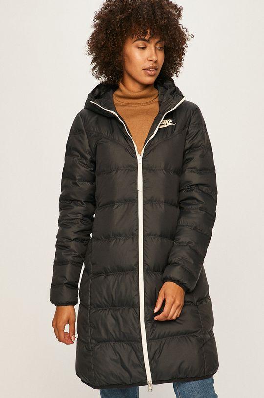 čierna Nike Sportswear - Obojstranná bunda Dámsky