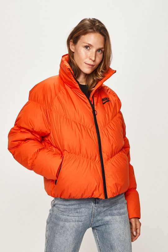 oranžová Nike Sportswear - Péřová bunda Dámský