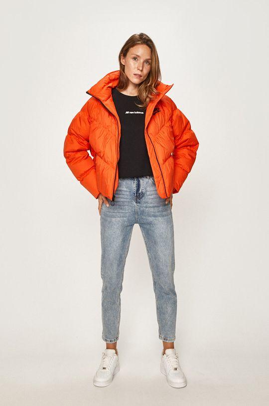 Nike Sportswear - Péřová bunda oranžová