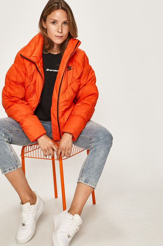 oranžová Nike Sportswear - Péřová bunda