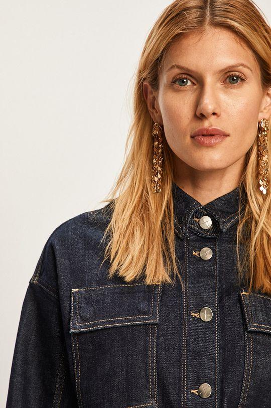 námořnická modř Pepe Jeans - Džínová bunda Peggy x Dua Lipa