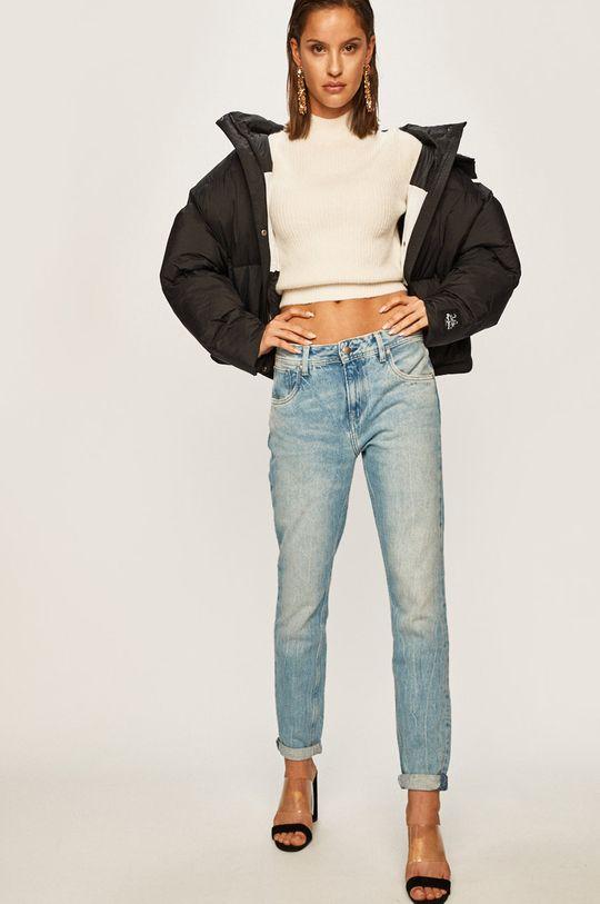 черен Pepe Jeans - Яке Iris x Dua Lipa