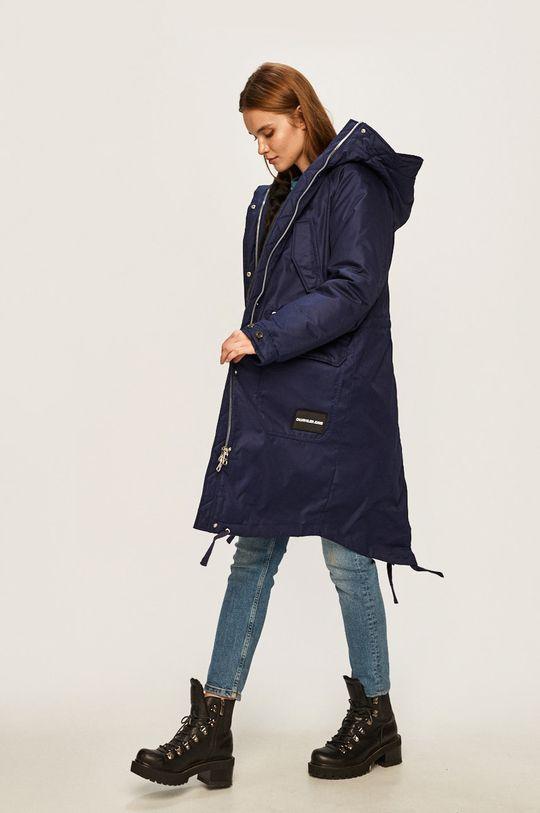 Calvin Klein Jeans - Parka de puf bleumarin