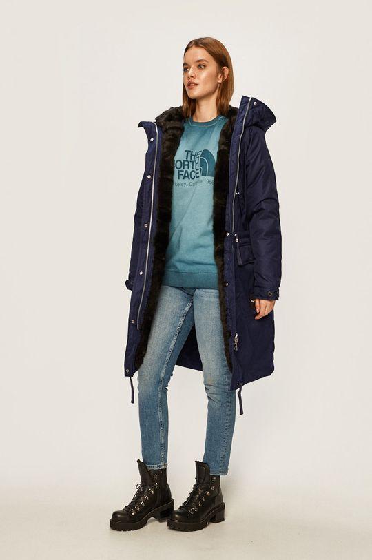 bleumarin Calvin Klein Jeans - Parka de puf