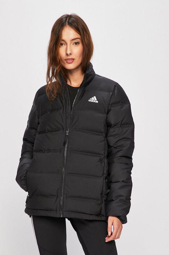 adidas Performance - Rövid kabát fekete
