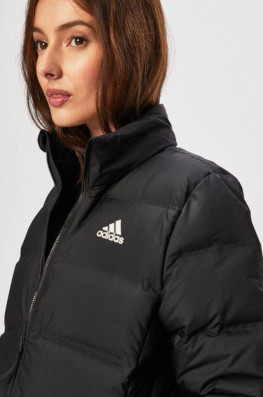 fekete adidas Performance - Rövid kabát