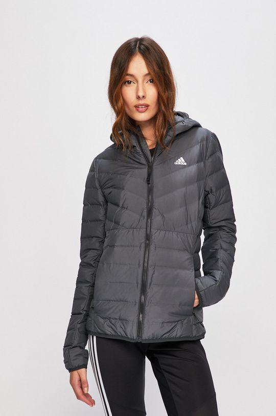 szürke adidas Performance - Rövid kabát Női