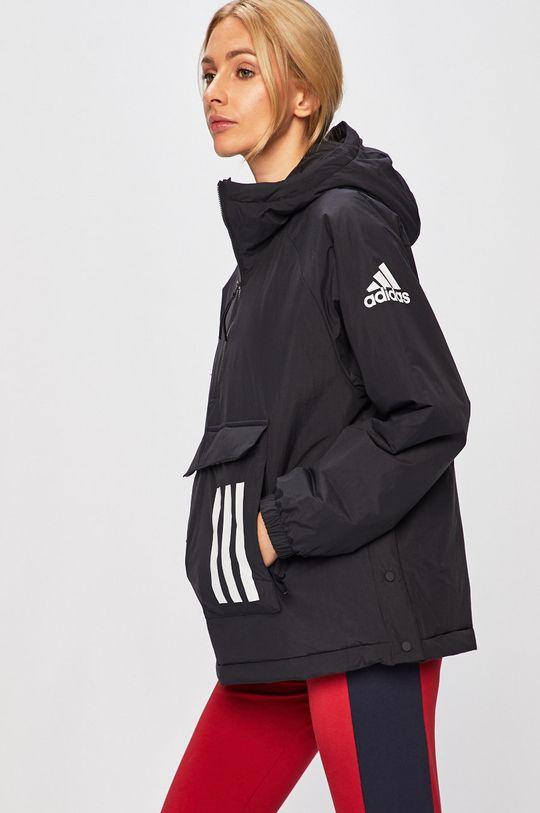 fekete adidas Performance - Rövid kabát Női