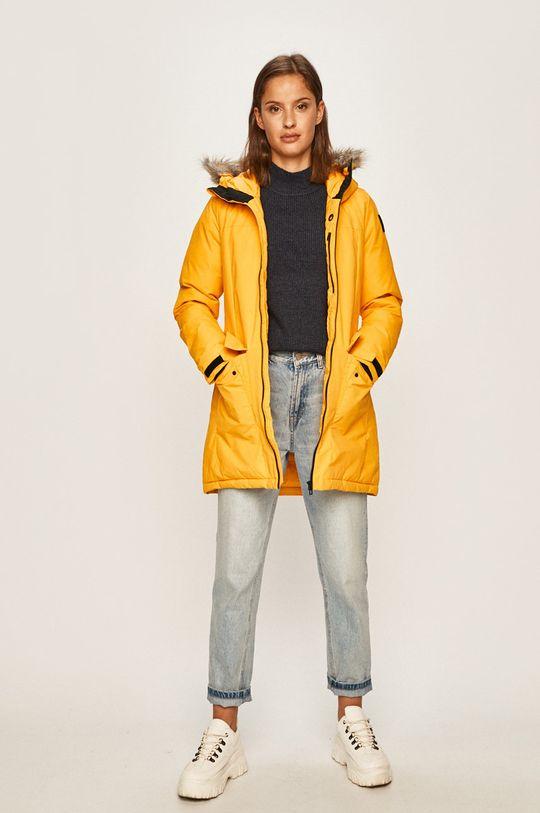 adidas Performance - Rövid kabát sárga