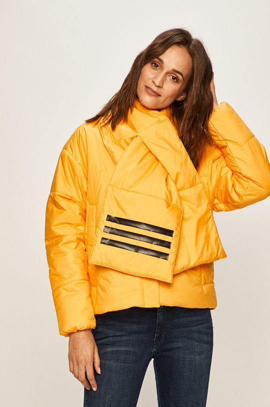 sárga adidas Performance - Rövid kabát Női