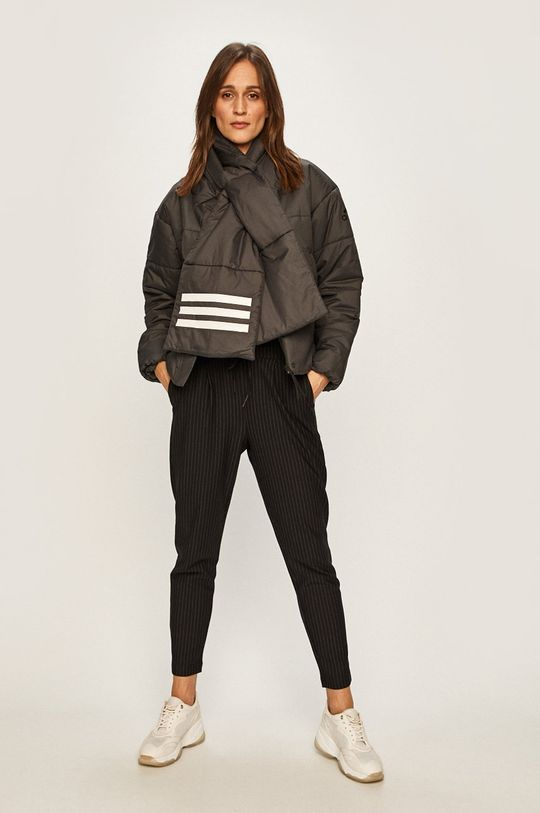 adidas Performance - Rövid kabát grafit
