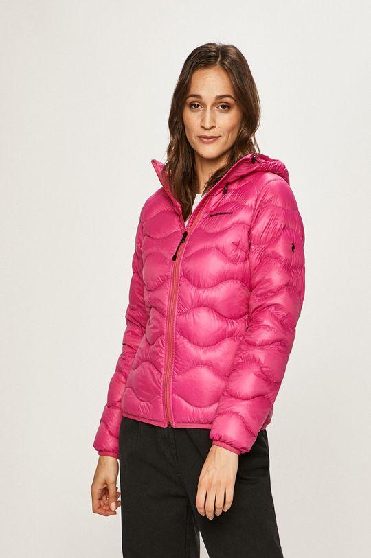 ostrá růžová Peak Performance - Péřová bunda Dámský