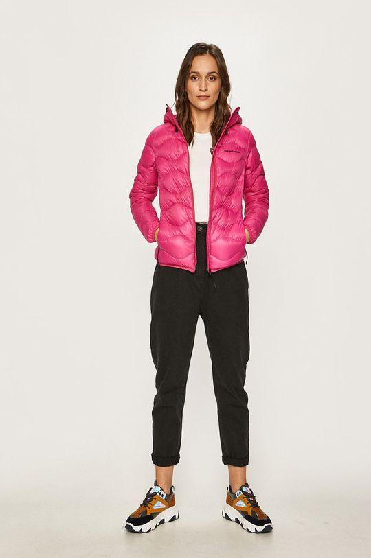 Peak Performance - Péřová bunda ostrá růžová