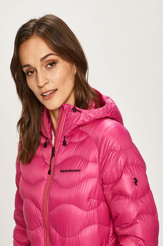 ostrá růžová Peak Performance - Péřová bunda