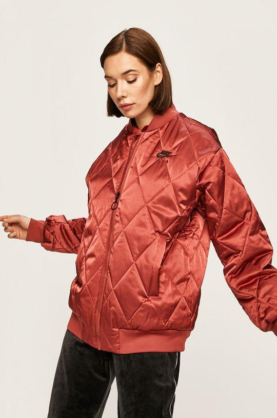 kaštanová Nike Sportswear - Bomber bunda Dámský