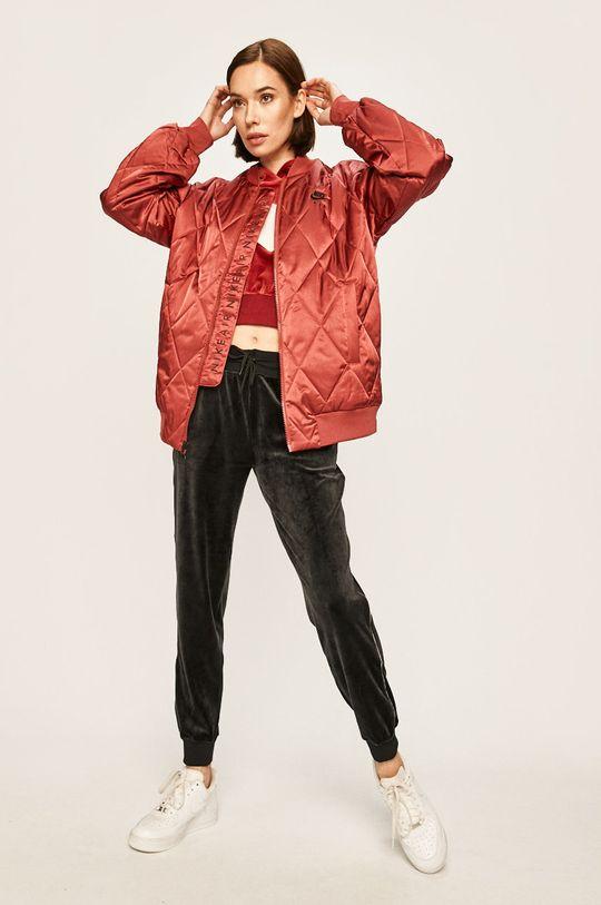 Nike Sportswear - Bomber bunda kaštanová