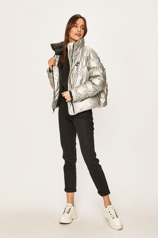 Nike Sportswear - Bunda stříbrná