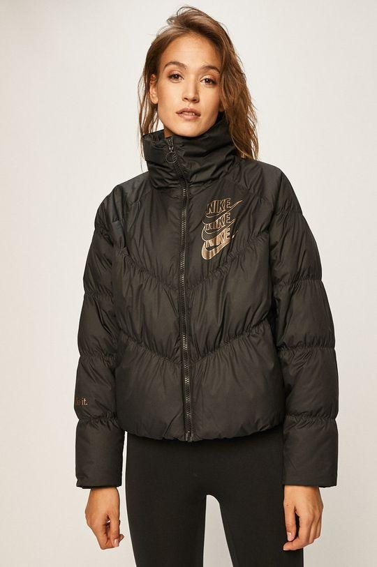 černá Nike Sportswear - Péřová bunda Dámský