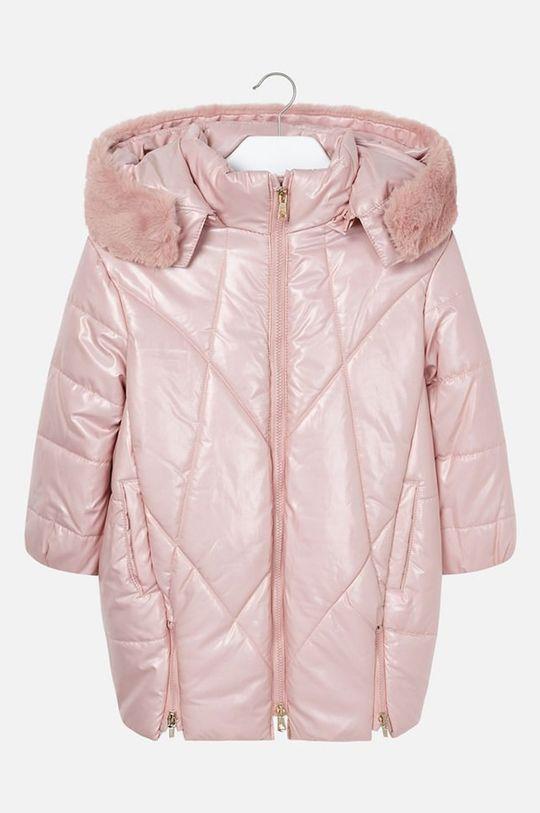 pastelová ružová Mayoral - Detská bunda 92-134 cm Dievčenský