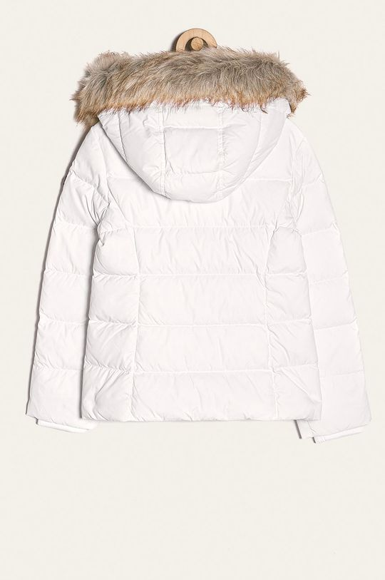 Tommy Hilfiger - Dětská péřová bunda 128-176 cm bílá