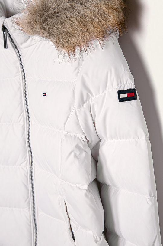 Tommy Hilfiger - Dětská péřová bunda 128-176 cm <p>  Výplň: 30% Peří, 70% Kachní chmýří  Hlavní materiál: 100% Polyester  Umělá kožešina: 53% Akryl, 47% Modacryl  Stahovák: 2% Elastan, 98% Polyester</p>