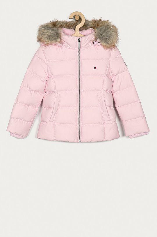 pastelově růžová Tommy Hilfiger - Dětská bunda 98-176 cm Dívčí