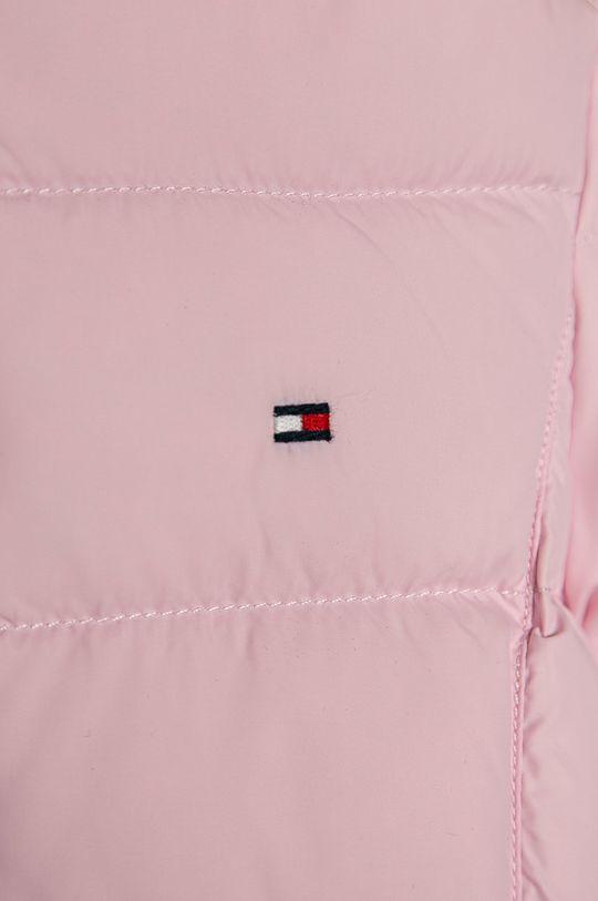 Tommy Hilfiger - Dětská bunda 98-176 cm pastelově růžová