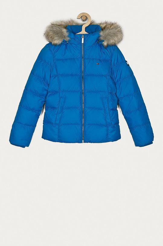 modrá Tommy Hilfiger - Dětská péřová bunda 128-176 cm Dívčí