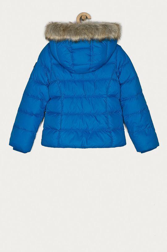 Tommy Hilfiger - Dětská péřová bunda 128-176 cm modrá