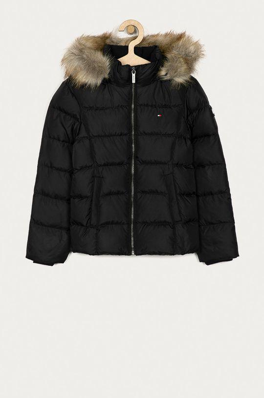 černá Tommy Hilfiger - Dětská bunda 98-176 cm Dívčí