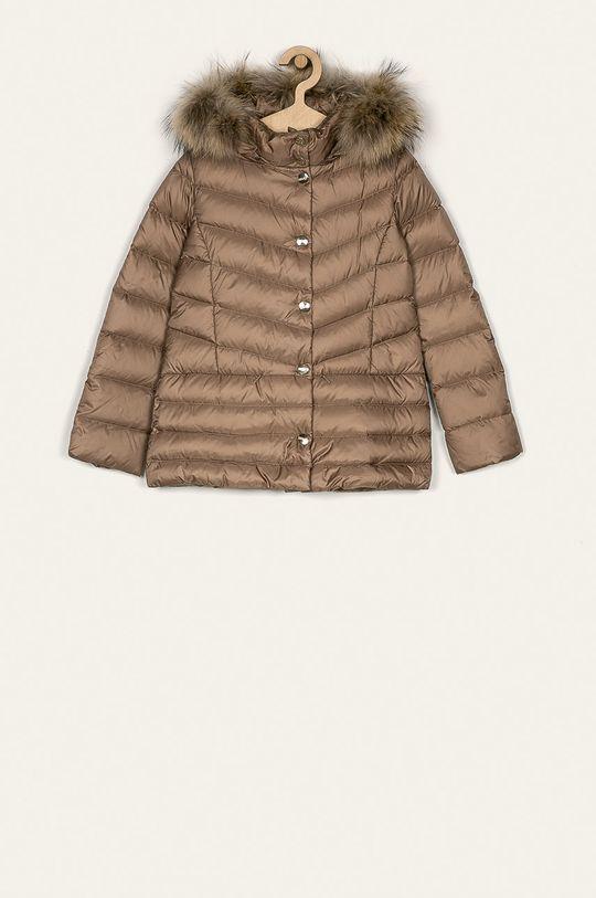 béžová Liu Jo - Dětská péřová bunda 14-170 cm Dívčí