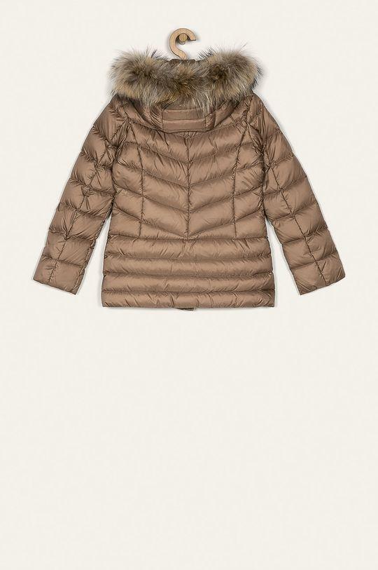 Liu Jo - Dětská péřová bunda 14-170 cm béžová