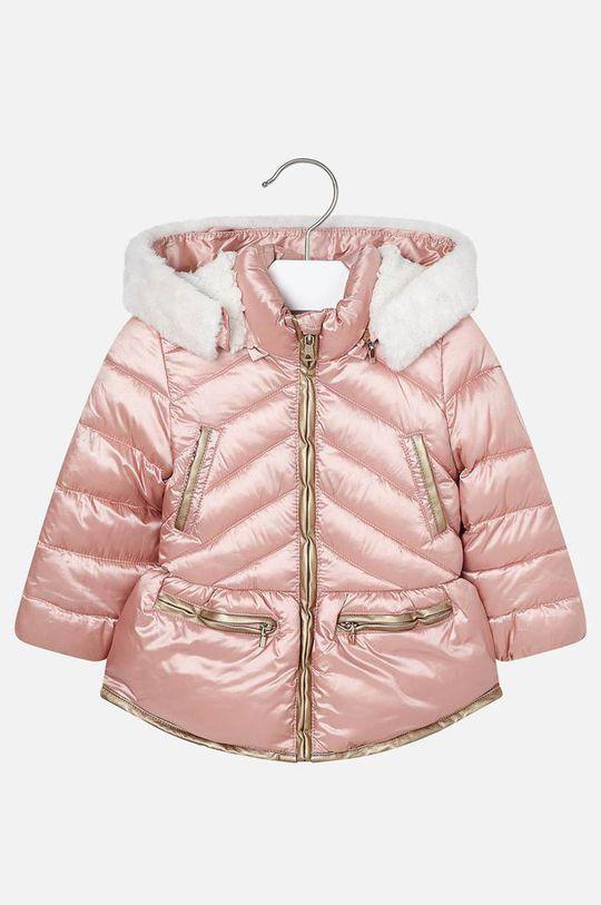 ružová Mayoral - Detská bunda 92-134 cm Dievčenský