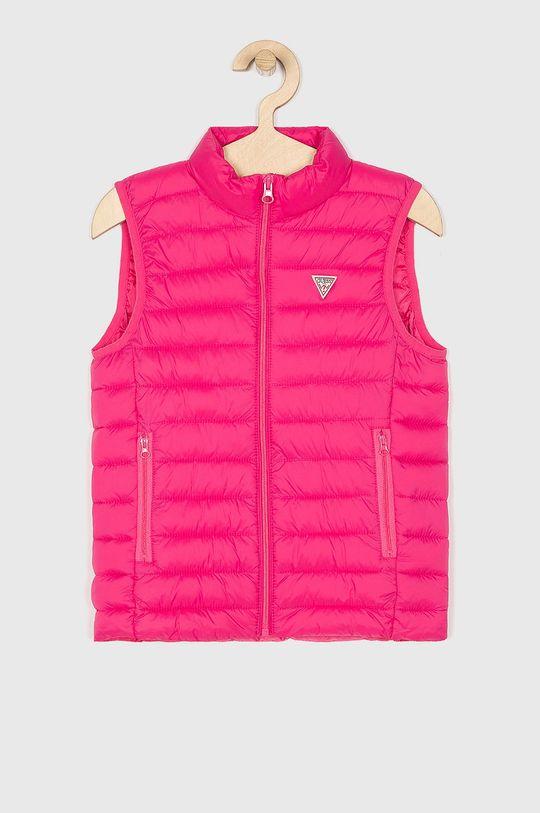 roz Guess Jeans - Vesta copii 118-175 cm De copii