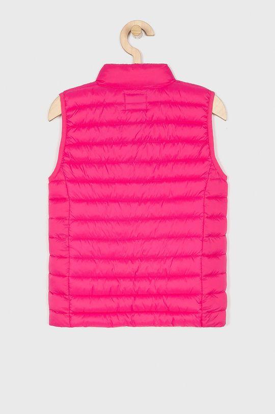 Guess Jeans - Bezrękawnik dziecięcy 118-175 cm różowy