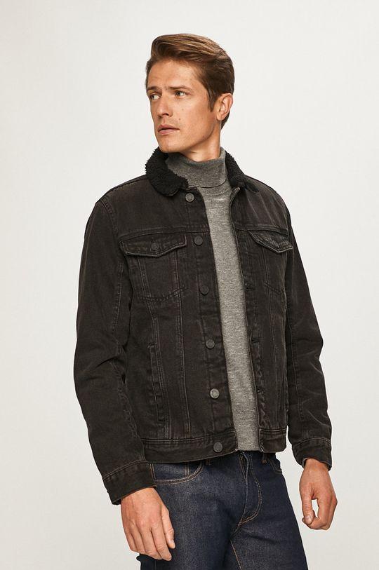 negru Blend - Geaca jeans De bărbați