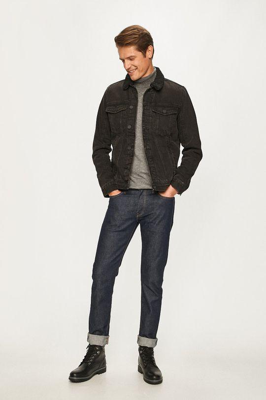 Blend - Geaca jeans negru