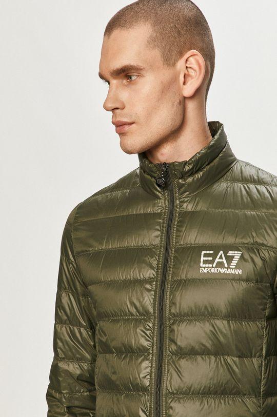 okrová EA7 Emporio Armani - Péřová bunda