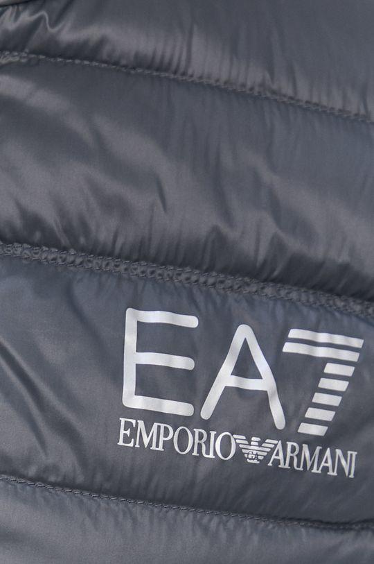 šedá EA7 Emporio Armani - Péřová vesta