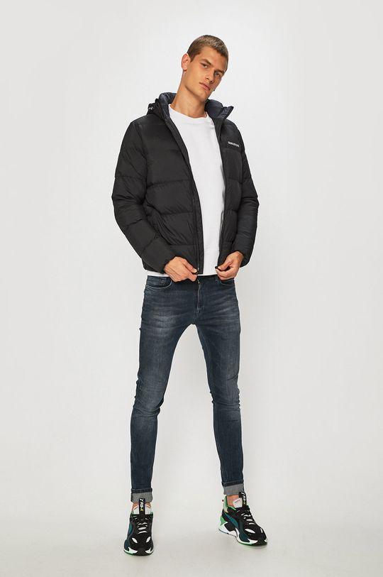 Calvin Klein Jeans - Péřová bunda černá