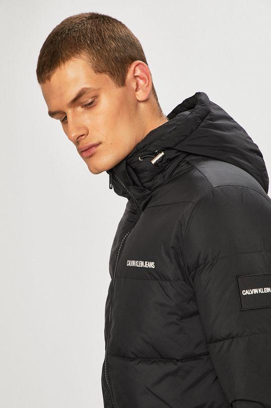 černá Calvin Klein Jeans - Péřová bunda